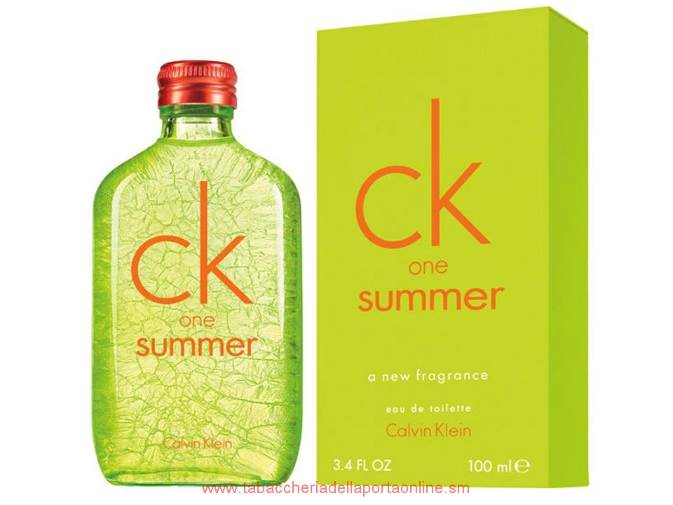 CK One Summer 2012 by Calvin Klein EDT TESTER 100 ML.