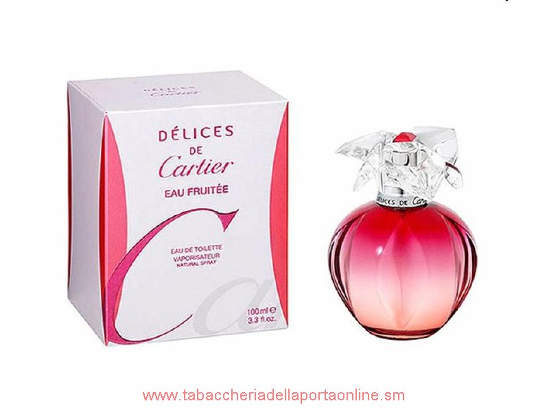 Delices de Cartier Eau Fruitee Donna  Eau de Toilette  100 ML.