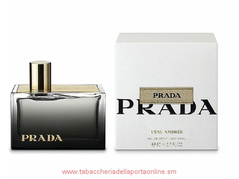 L`Eau Ambree Donna  by Prada  EDP TESTER  80 ML.