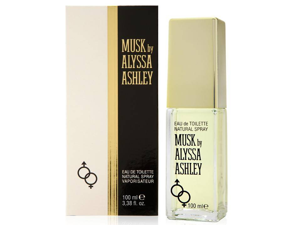 Musk for women and men by Alyssa Ashley   EDT NO TESTER 100 ML.