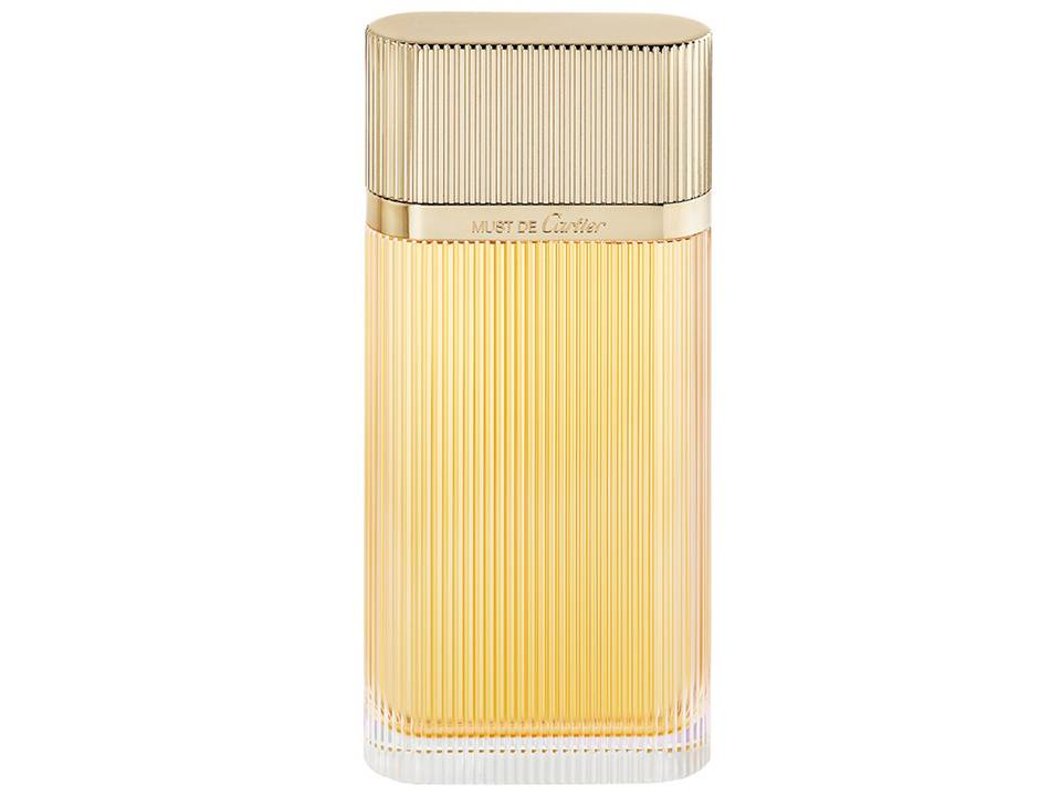 Must de Cartier Gold Donna Eau de Parfum TESTER 100 ML.