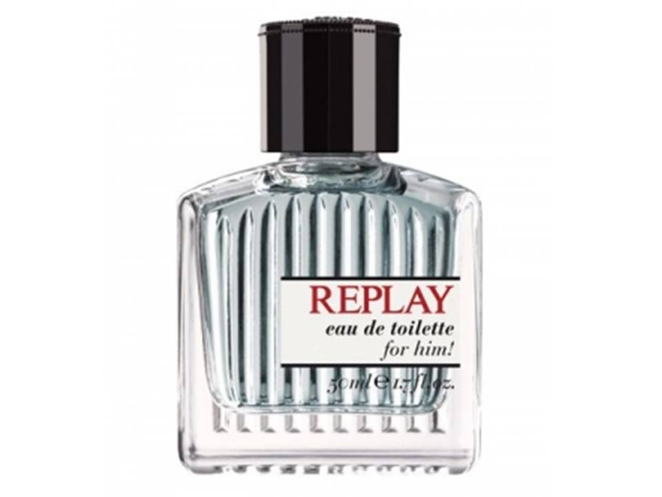 Replay for Him by Replay EDT TESTER  75 ML.