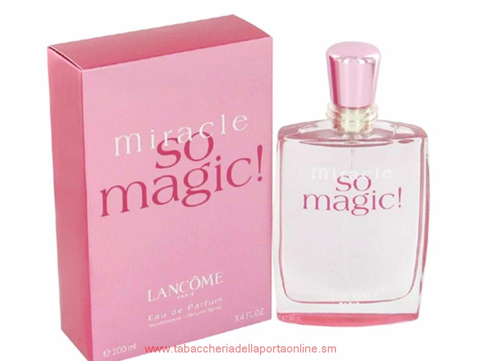 Miracle So Magic! Donna by Lancome  EDP TESTER 100 ML.