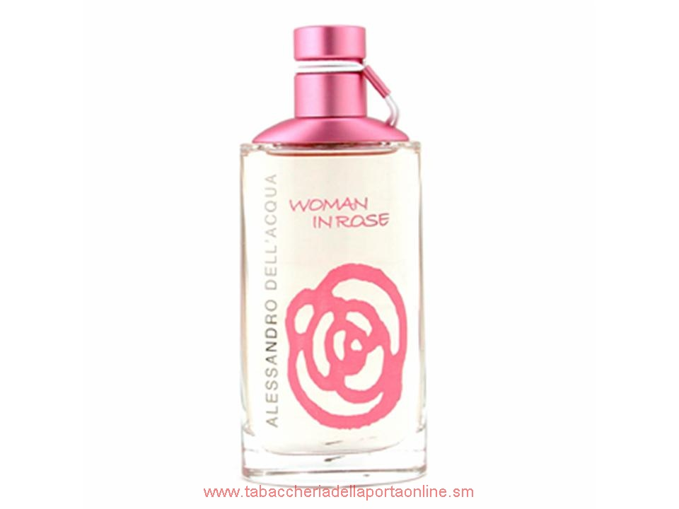Woman In Rose Donna by Alessandro Dell`Acqua EDT NO TESTER 50 ML