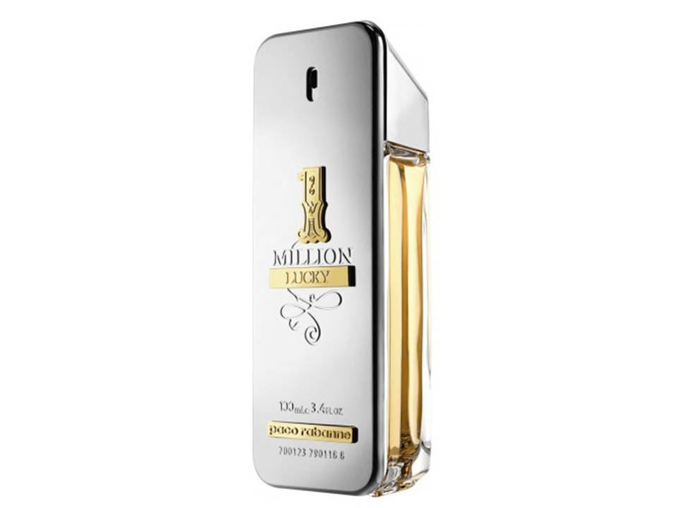 1  Million Lucky Uomo by Paco Rabanne EDT NO TESTER 100 ML.