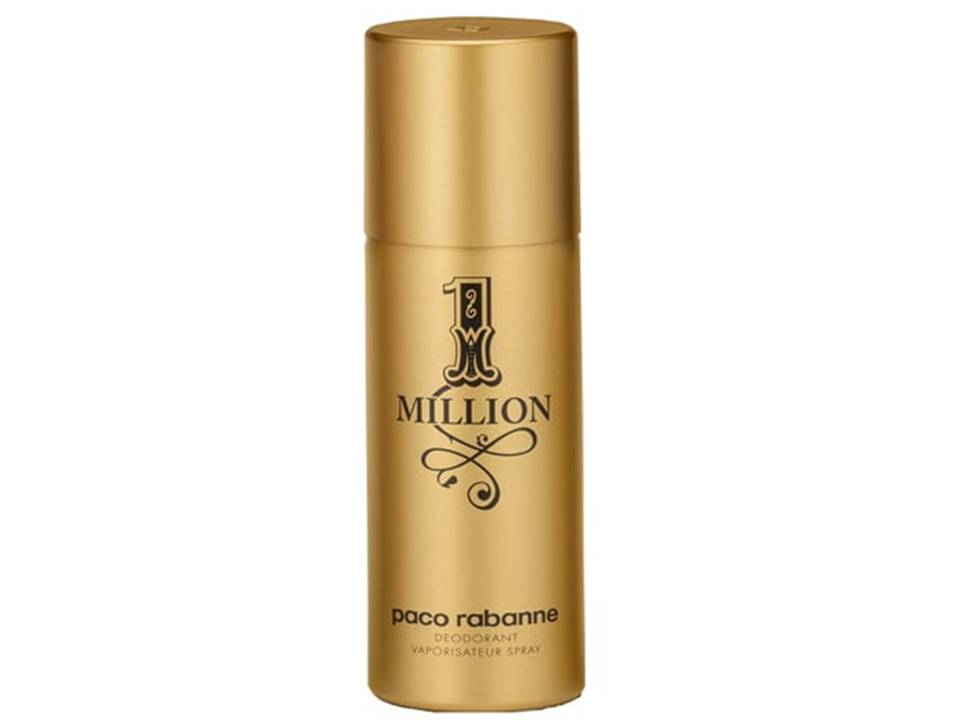 1 Million  Uomo by Paco Rabanne  DEODORANTE SPRAY 150 ML.