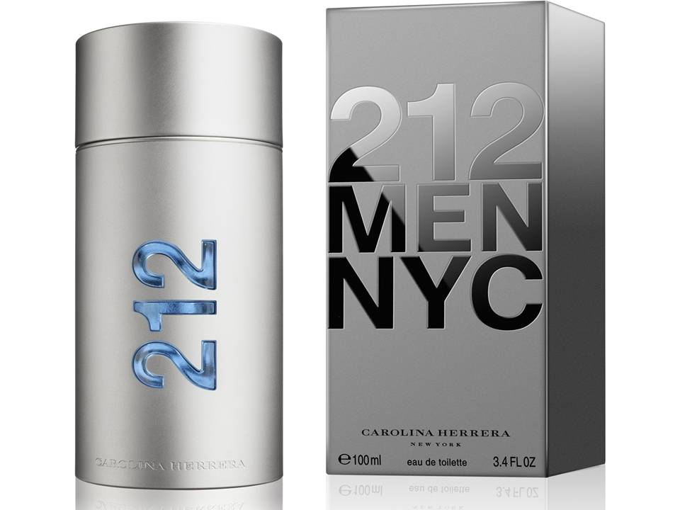 212 Men by Carolina Herrera EDT TESTER 100 ML.