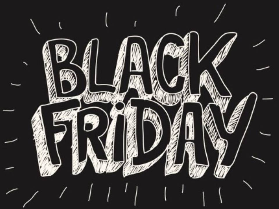 BLACK FRIDAY 18/24 NOVEMBRE