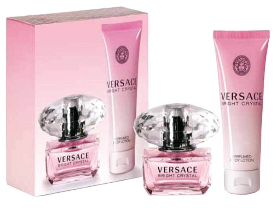 Bright Crystal Donna by Versace COFANETTO TRAVEL SET
