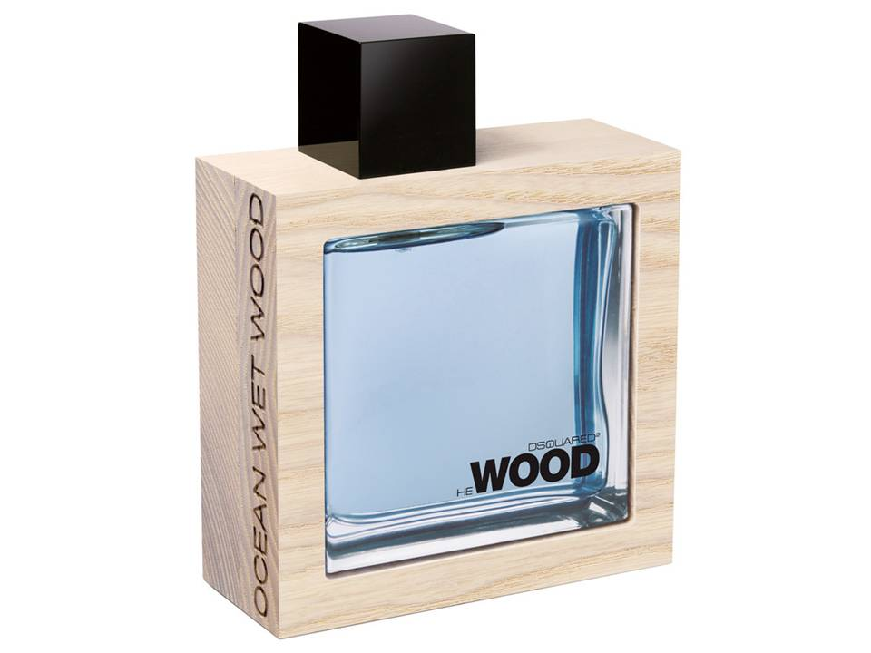 He Wood Ocean Wet  Wood Uomo by  DSQUARED EDT TESTER 100 ML.