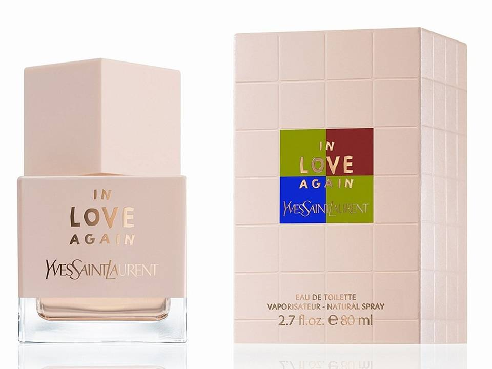 ^In Love Again Donna by Yves Saint Laurent  EDT TESTER 80 ML.