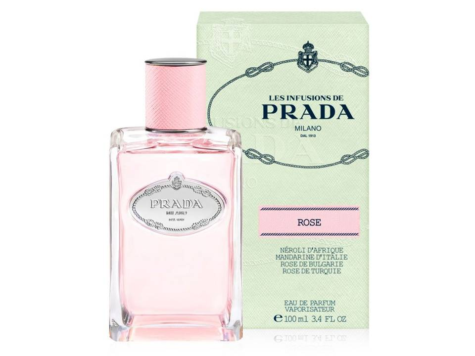 Infusion de Rose by Prada EDP TESTER 100 ML.