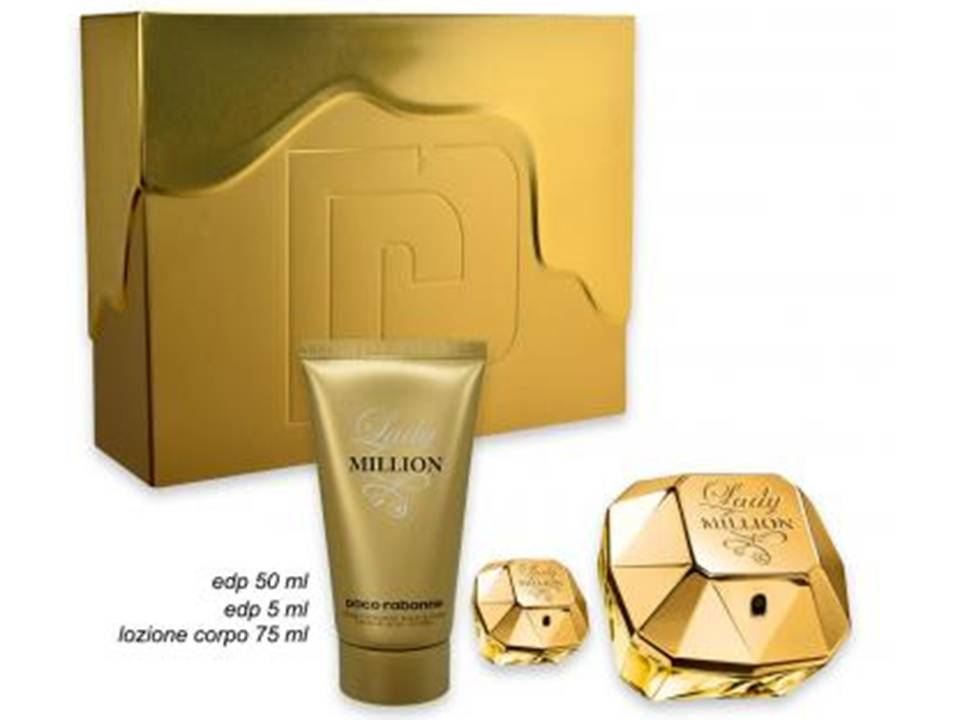 Cofanetto Lady Million  by Paco Rabanne