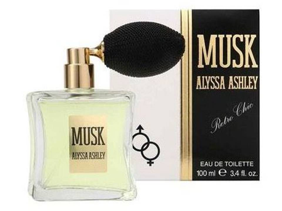Musk Rètro for women and men by Alyssa Ashley EDT TESTER  100 ML