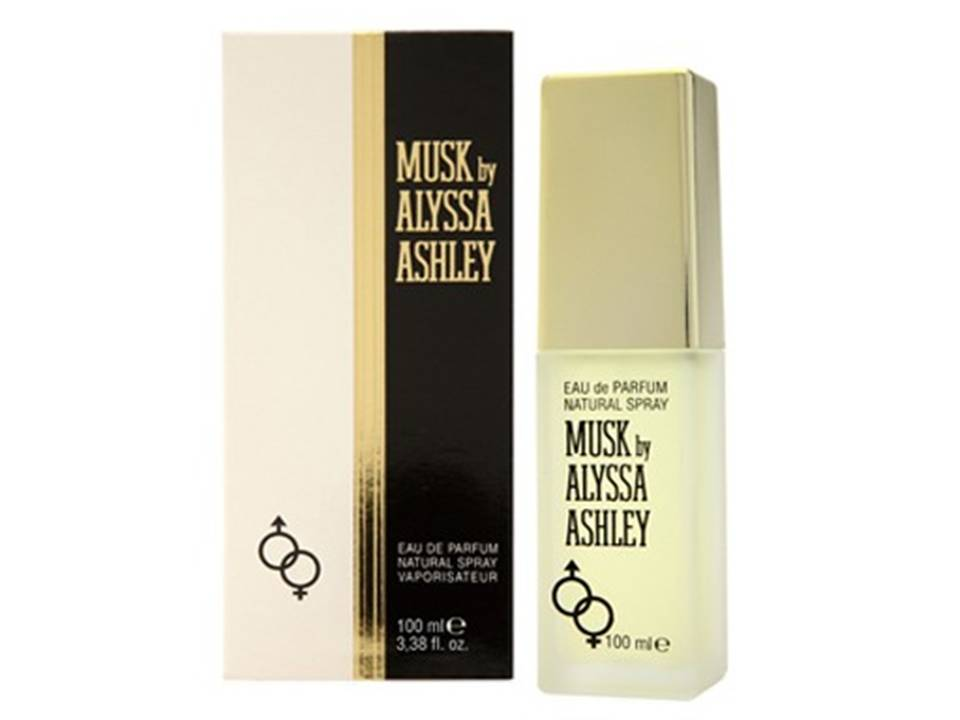 Musk for women and men by Alyssa Ashley   EDP NO BOX 50 ML.