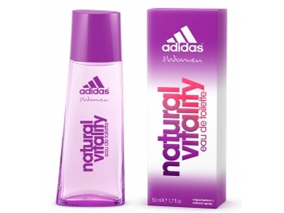 *Natural Vitality Donna by Adidas EDT NO BOX 30 ML.