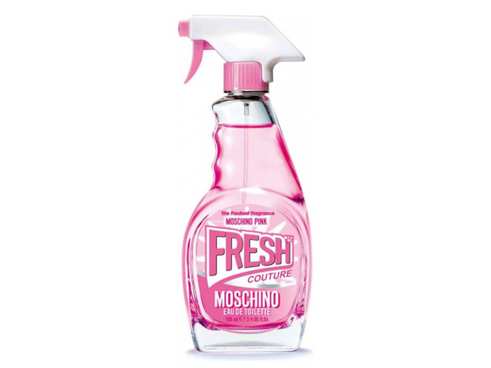 *Pink Fresh  Couture Donna by Moschino EDT TESTER 100 ML.