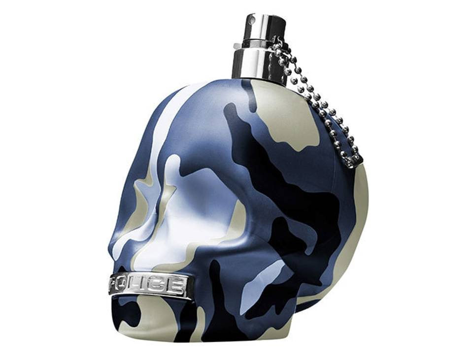 TO BE Camouflage BLUE by Police Eau de Toilette TESTER 75 ML.