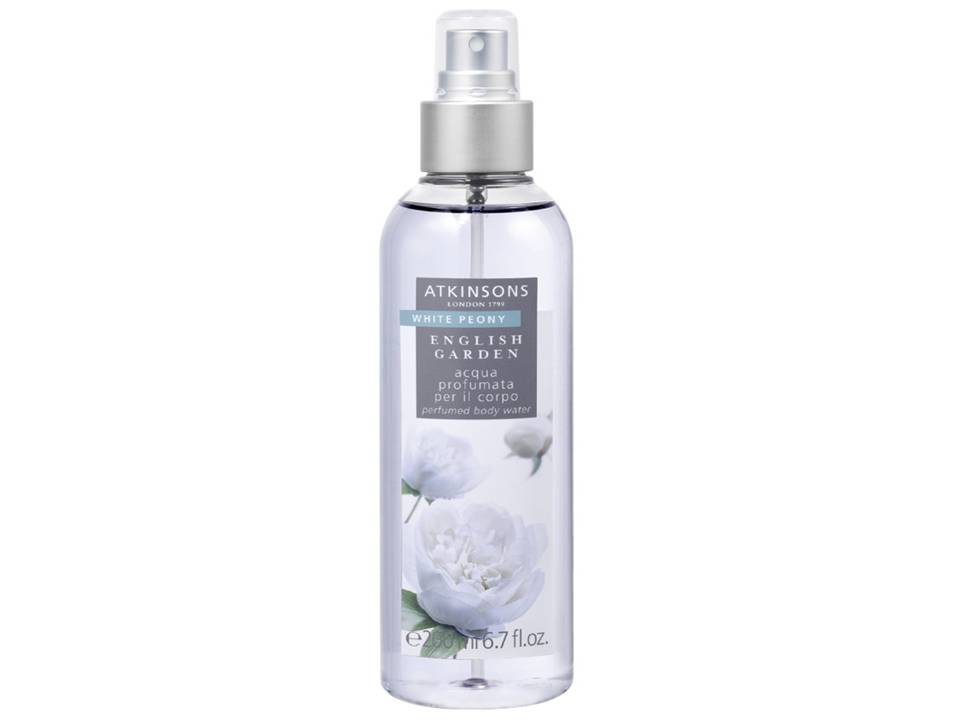 ENGLISH GARDEN - White Peony Acqua Profumata TESTER 200 ML.