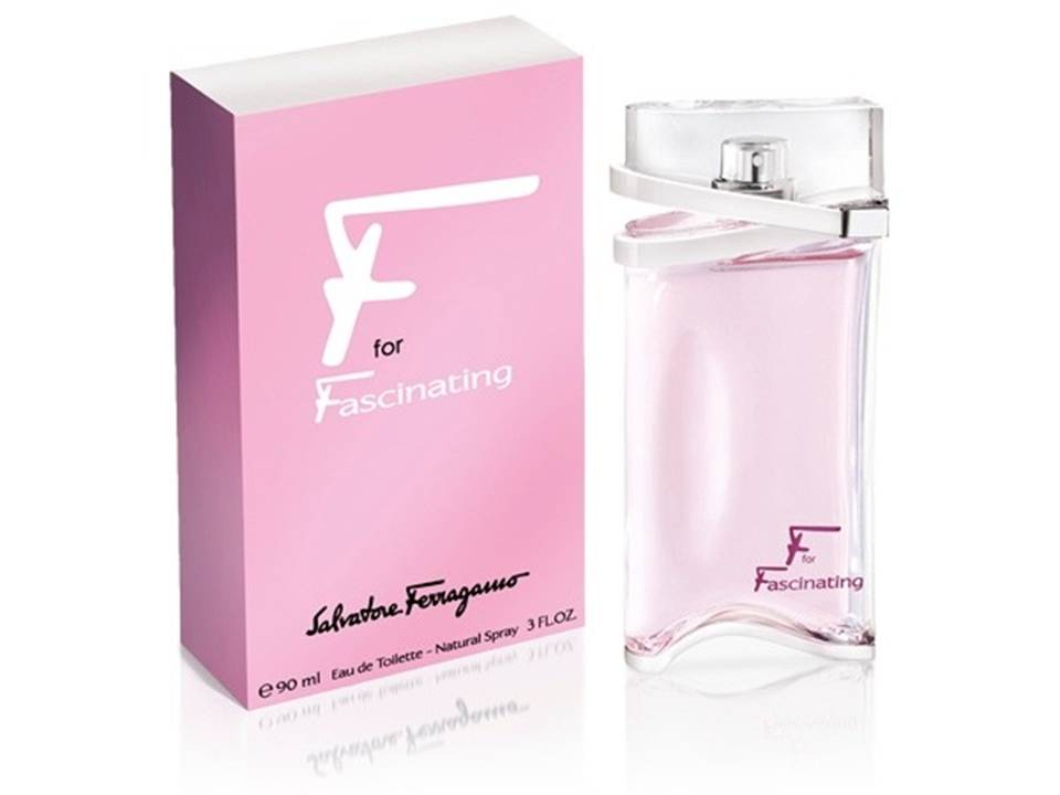 F for Fascinating Donna by Ferragamo EDT NO TESTER 90 ML.