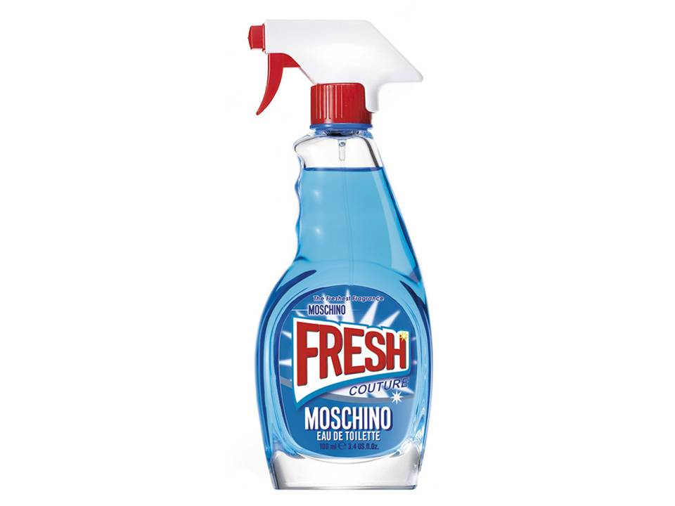 *Fresh  Couture Donna by Moschino EDT TESTER 100 ML.