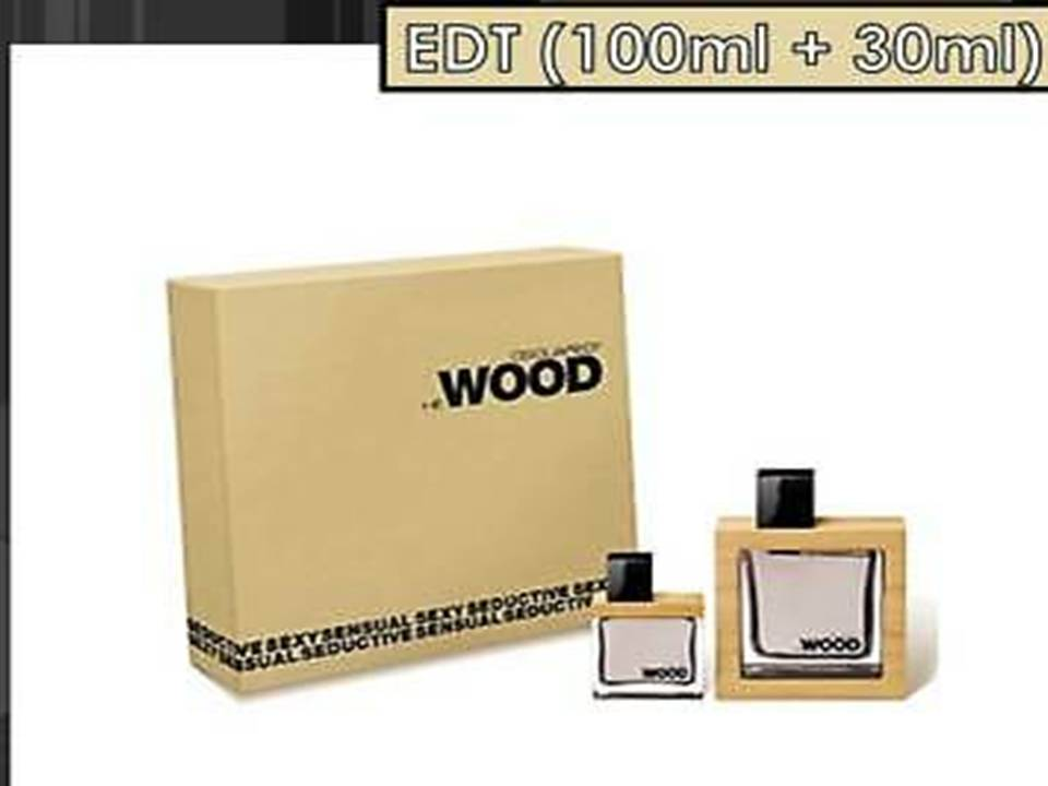 He  Wood Uomo  by DSQUARED² COFANETTO 100 ML. + 30 ML.