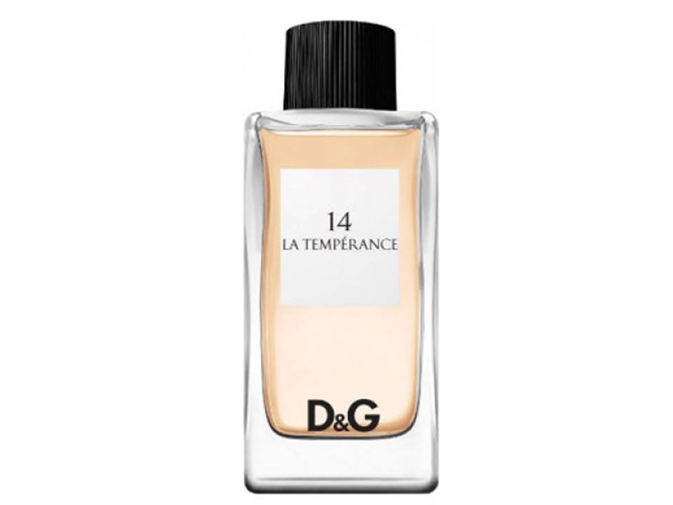 14 - La Temperance for women by D&G  EDT TESTER 100 ML.
